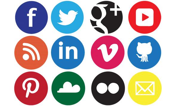 Gumbi za deljenje na socialnih omrežjih